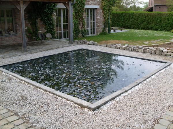 bassin de jardin wavre